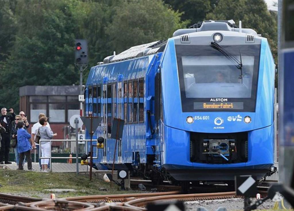 Immagine del treno a idrogeno Coradia Ilint